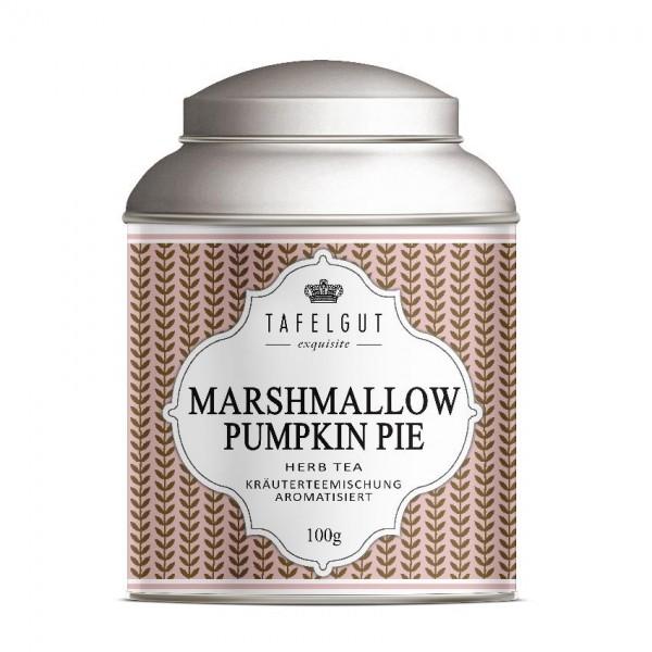Tafelgut Marshmallow Pumpkin Pie Tea, Kräuterteemischung aromatisiert
