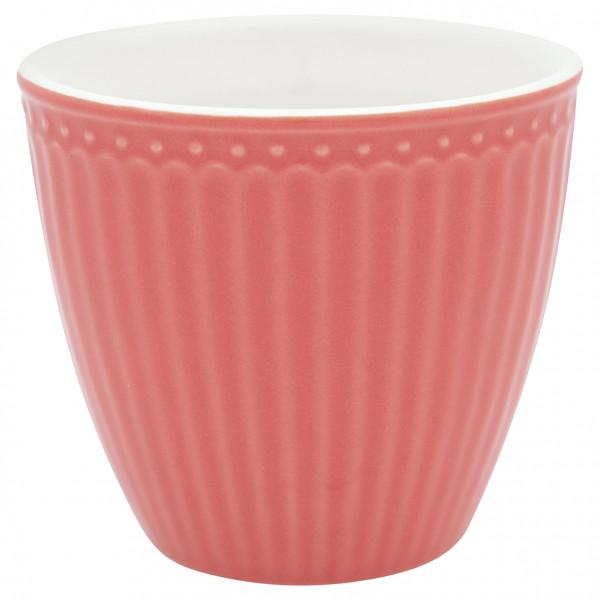 Greengate Latte Cup Alice Coral