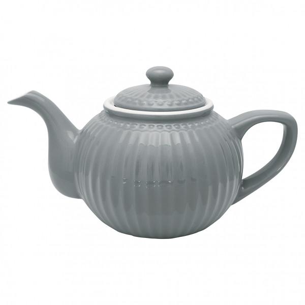 Greengate Teekanne Alice Stone Grey