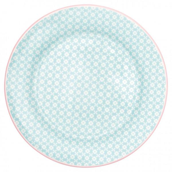 Greengate Frühstücksteller Helle Pale Blue
