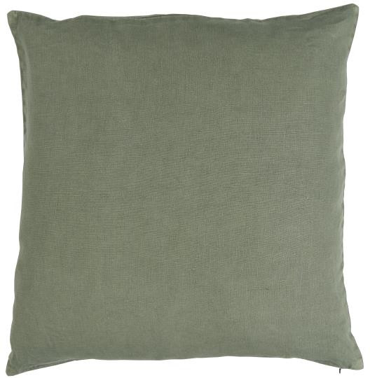 Ib Laursen Kissenbezug Dusty Chalk Green 50 x 50 Leinen