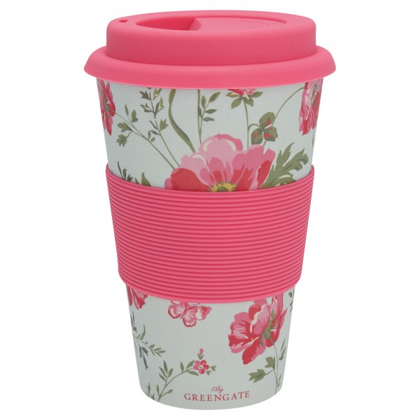Greengate Travel mug / Thermobecher Meadow pale blue