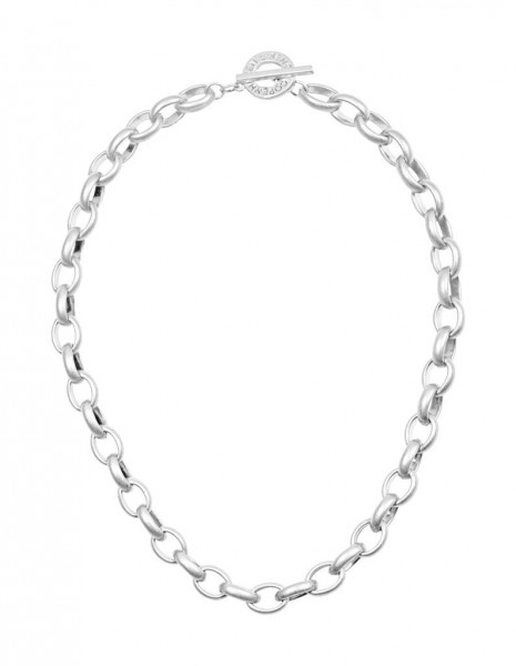 Sence Copenhagen Essentials necklace matt silver, 45 cm