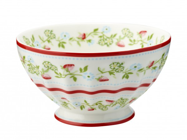 Greengate French Bowl Gloria White Xlarge Limitierte Sonderedition