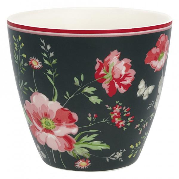 Greengate Latte Cup Meadow black