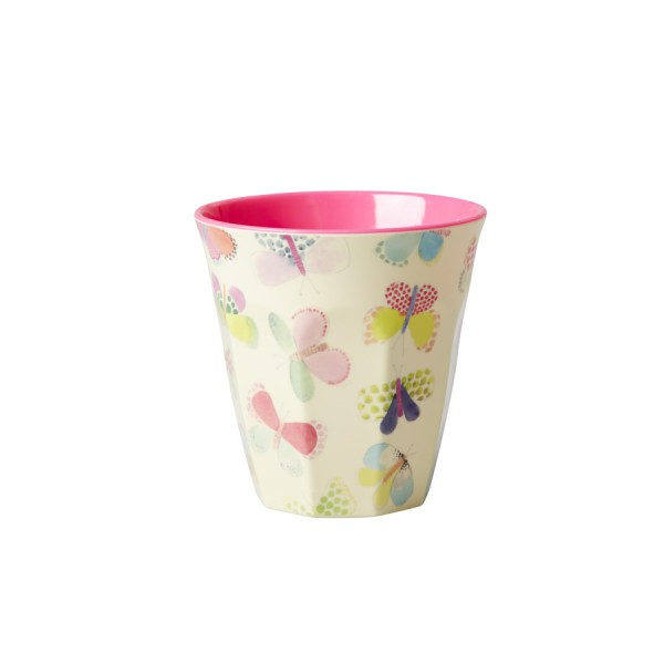 Rice Melamin Becher Two Tone Butterfly
