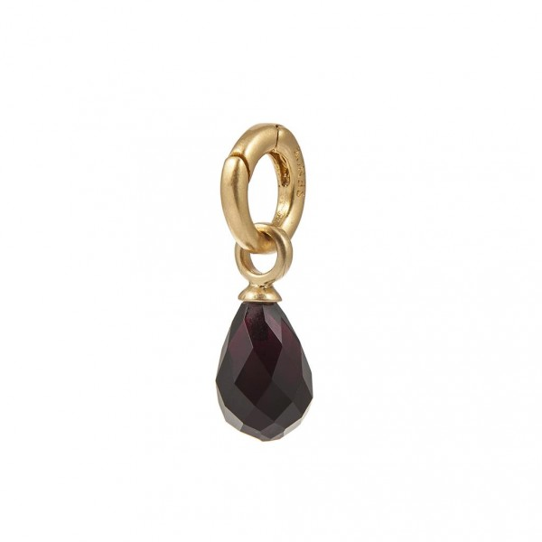 Sence Copenhagen Signature Charm Glass worn gold