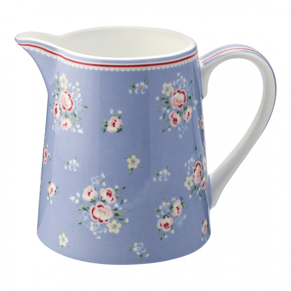 Greengate Krug Nicoline dusty blue 0,5 l