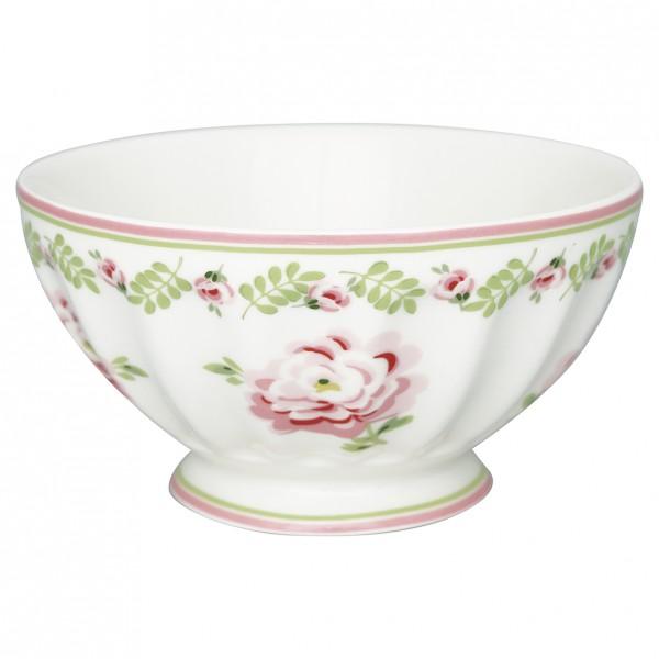 Greengate French Bowl XL Lily petit white