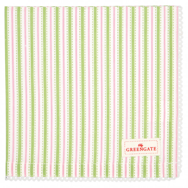 Greengate Stoffserviette Sari white