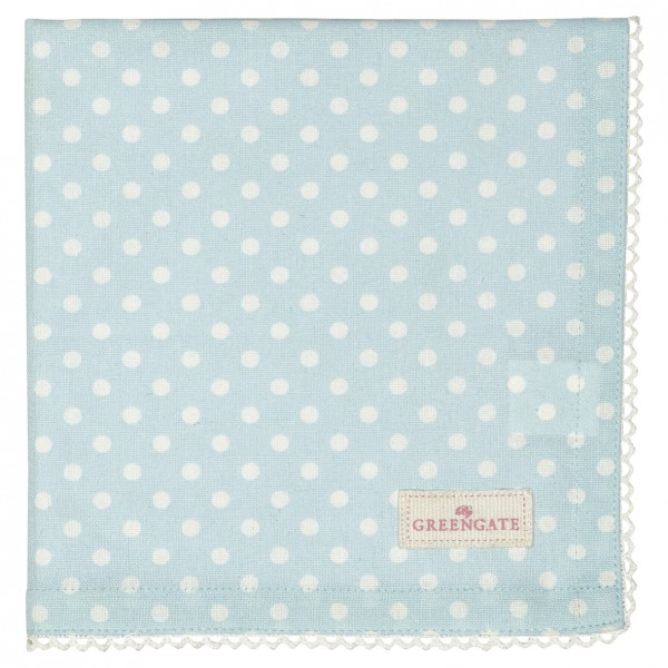 Greengate Stoffserviette Spot pale blue
