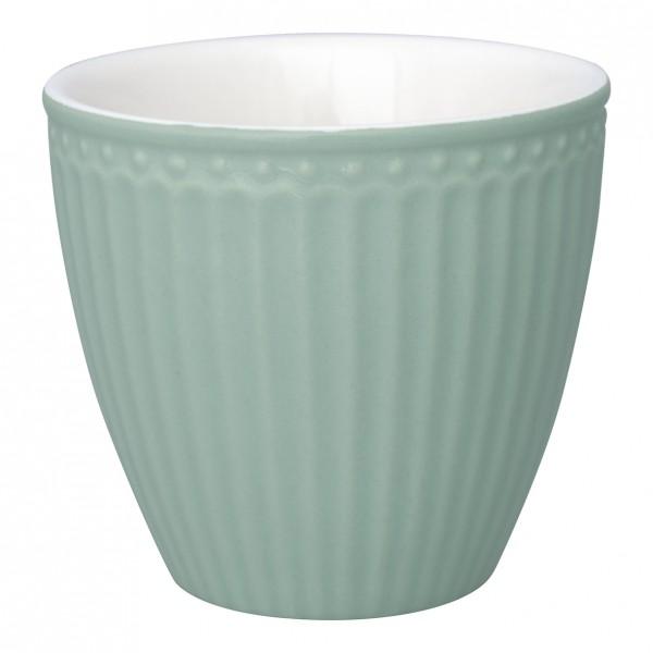 Greengate Latte Cup Alice dusty mint