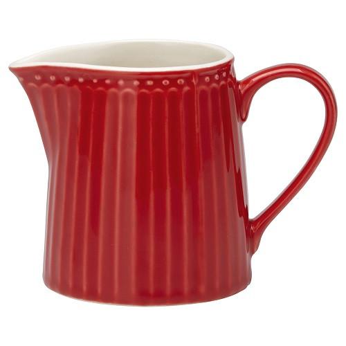 Greengate Porzellan-Milchkännchen Alice Red