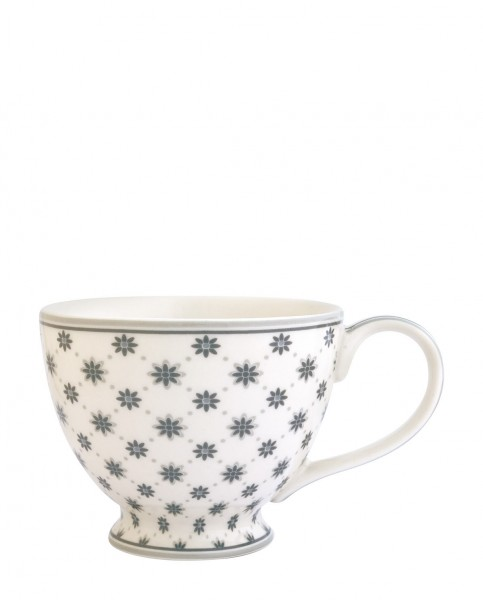 Greengate Tea Cup Laurie White