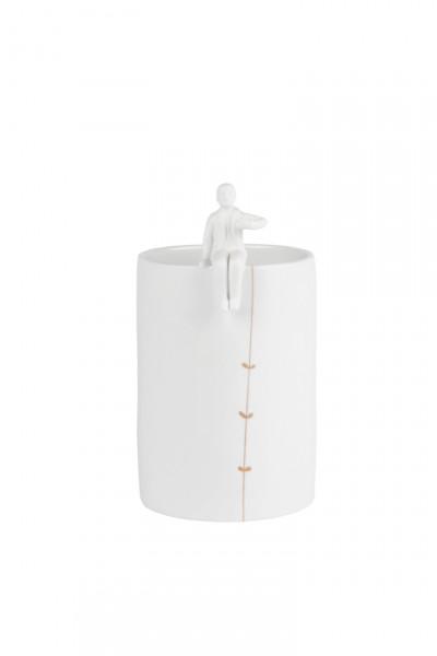 räder Zuhause Porzellangeschichten Vase Gärtner