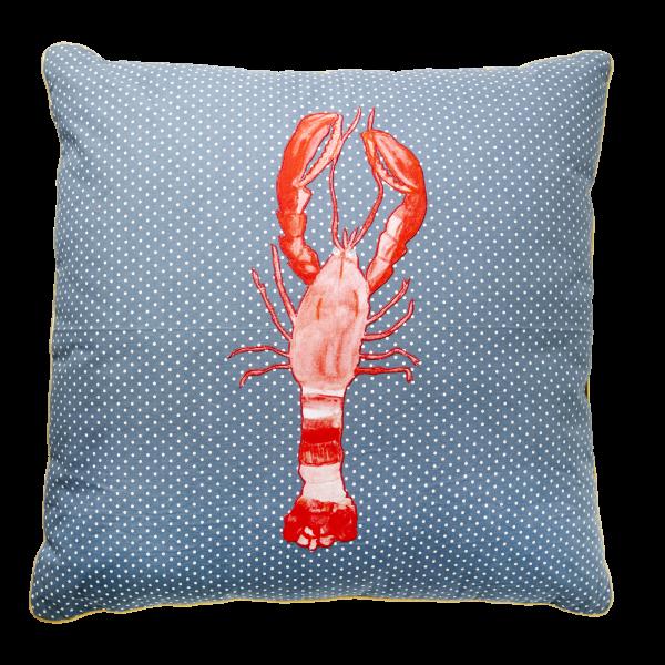 "Rice Kissen ""Lobster"" 60 x 60"