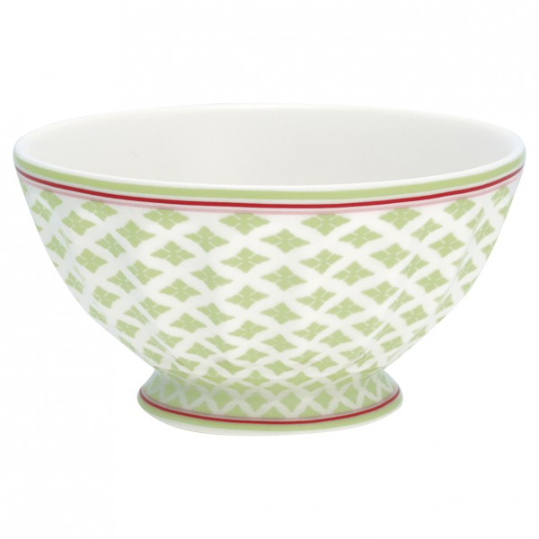 Greengate French Bowl XL Sasha green