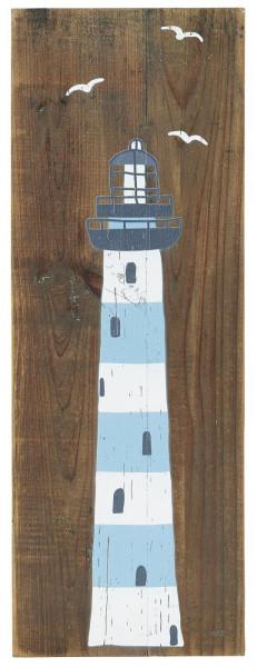 "Ib Laursen Holzschild ""Leuchtturm"""