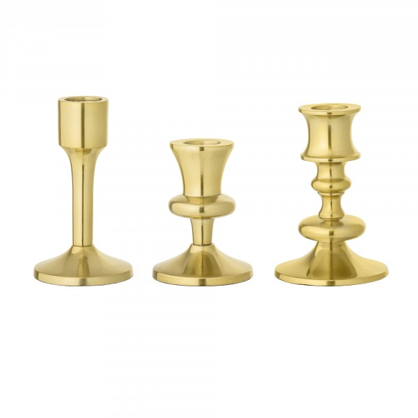 Bloomingville Kerzenständer-Set gold