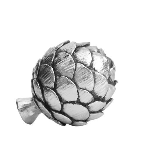Lene Bjerre Deko-Artischocke, Antik-Silberfarben