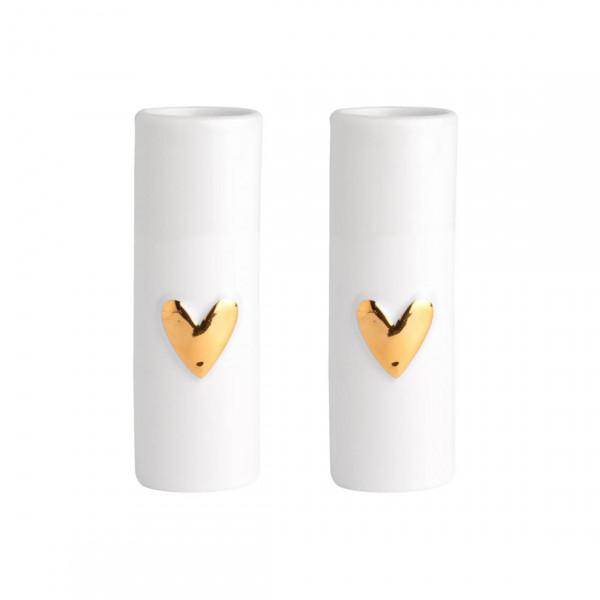 """räder Wolke Sieben Mini Vasen  Herz """"Set aus 2"""""""