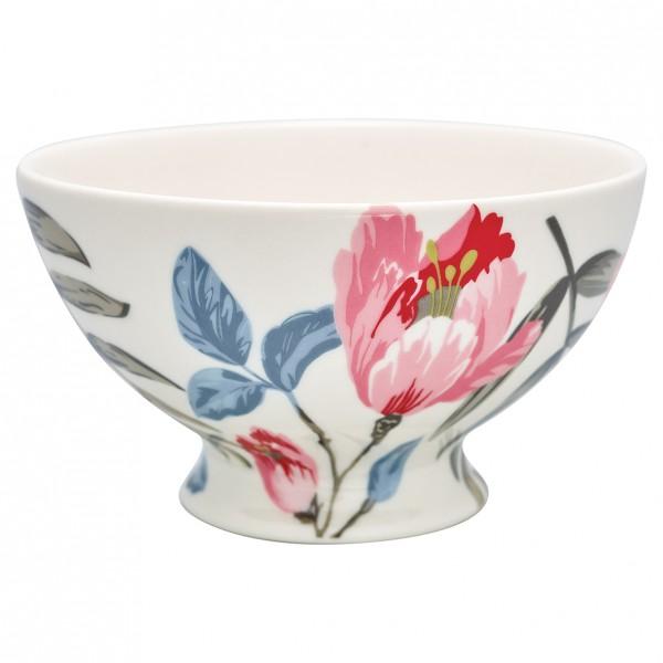 Greengate Soup bowl Magnolia white