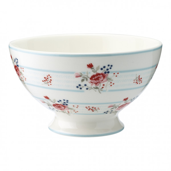 Greengate Soup bowl Fiona pale blue