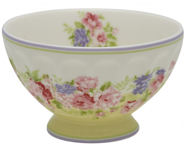 Greengate French Bowl Rose pale yellow medium Sonderedition 2019