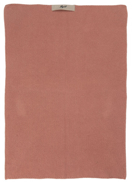 Ib Laursen Handtuch Mynte Desert Rose gestrickt