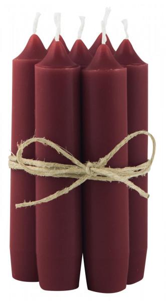Ib Laursen Kerzen-10er Set, Rhododendron