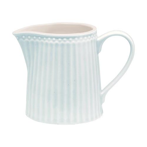 Greengate Porzellan-Milchkännchen Alice Pale Blue