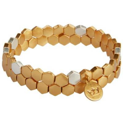Sence Copenhagen Armband-Set Shadow Matt Gold