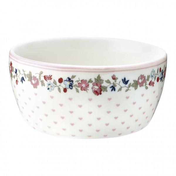 Greengate Kids bowl Ruby petit white