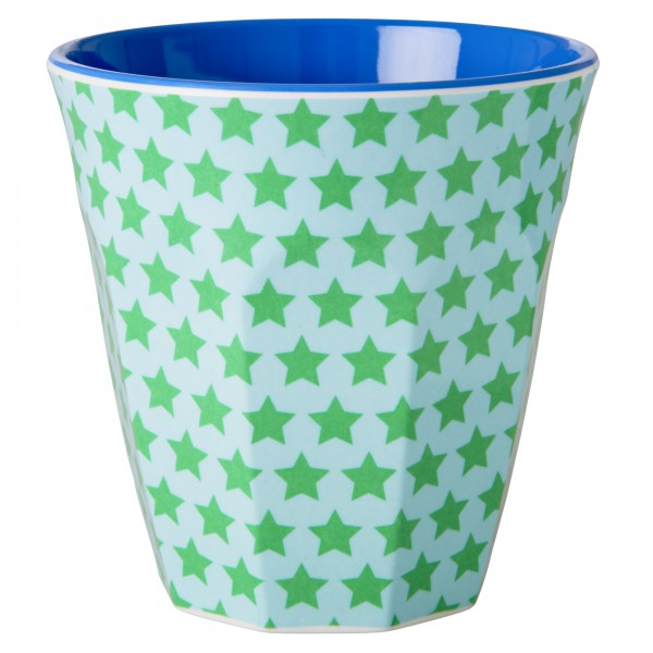 Rice Melamin Becher Two Tone Sterne