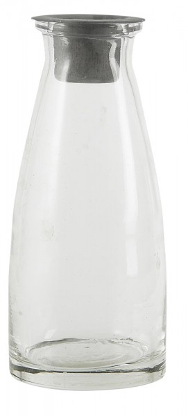 Ib Laursen Glasflasche mit losem Kerzeneinsatz