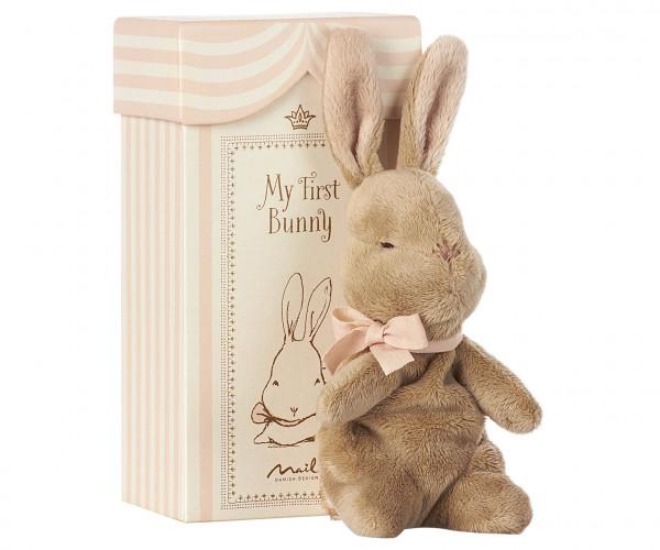 Maileg Kuschelhase My First Bunny in Box, Rosa