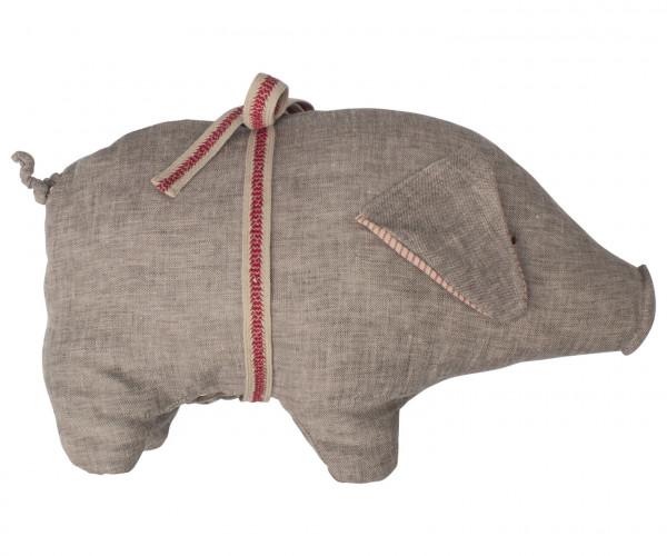 Maileg Schwein Grey Medium