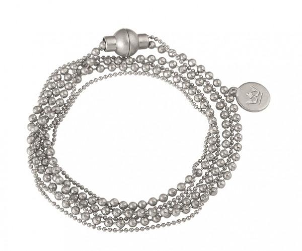 Sence Copenhagen Armband Hippie worn silver