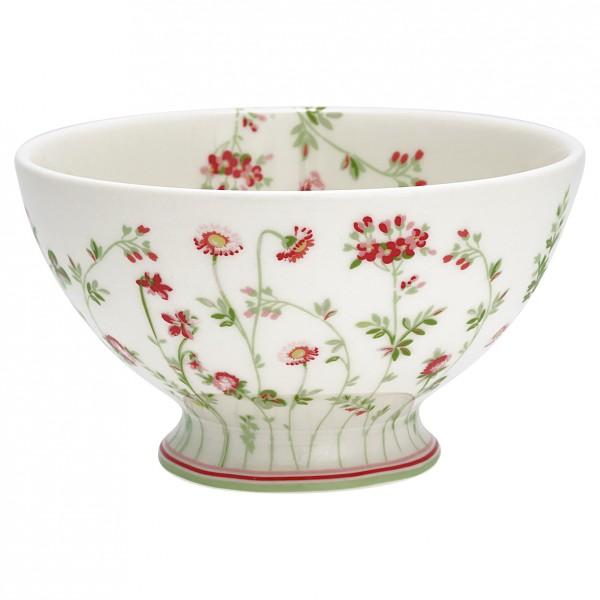 Greengate Soup bowl Camille white