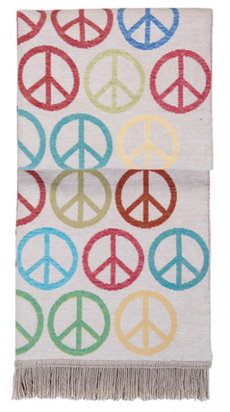 pad design Wolldecke PEACE Multi