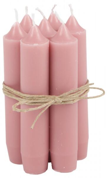 Ib Laursen Kerzen-10er Set Peony Pink