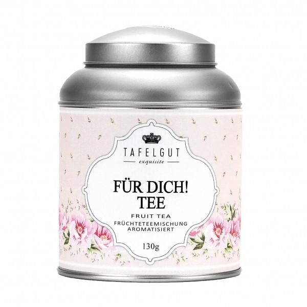 Tafelgut Für Dich! Tee, Früchteteemischung aromatisiert Orangen-Eis-Note