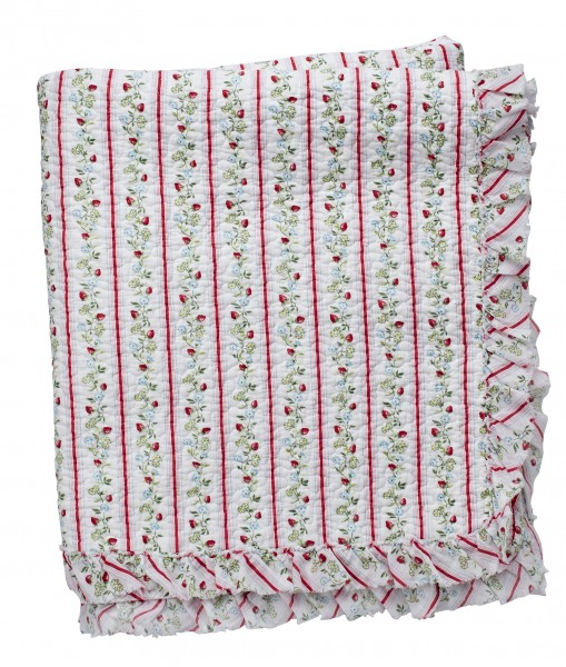 Greengate Quilt / Bed Cover Gloria White Limitierte Sonderedition 140 x 220