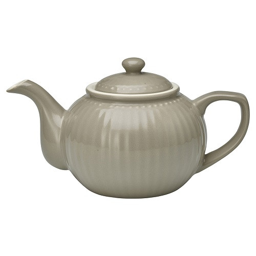 Greengate Teekanne Alice Warm Grey