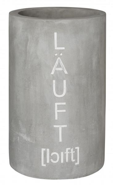 """räder Beton Flaschenkühler """"Läuft"""""""