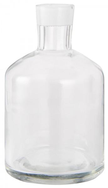 Ib Laursen Apothekerglas Vase/Kerzenständer für Stabkerze