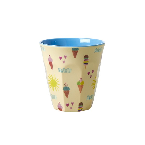 Rice Melamin Becher Two Tone Summer