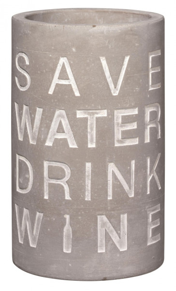 """räder Beton Flaschenkühler """"Save Water..."""""""