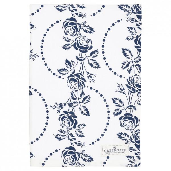 Greengate Geschirrtuch Fleur blue
