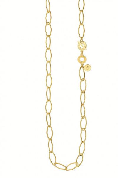 Sence Copenhagen Essential Halskette matt gold,  90 cm